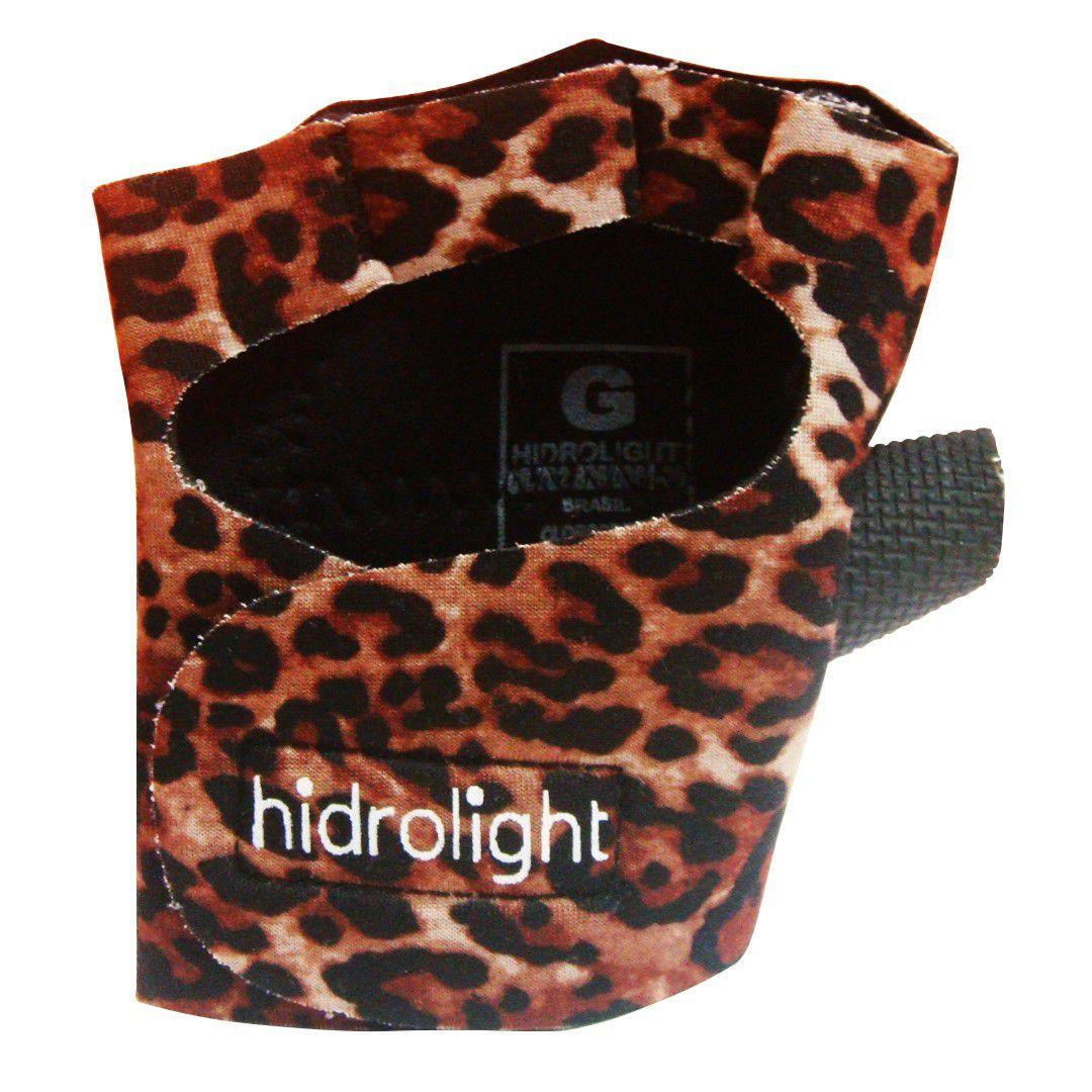 Luva Musculação Hidrolight Oncinha