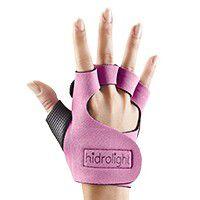 Luva Musculação Hidrolight Rosa Claro