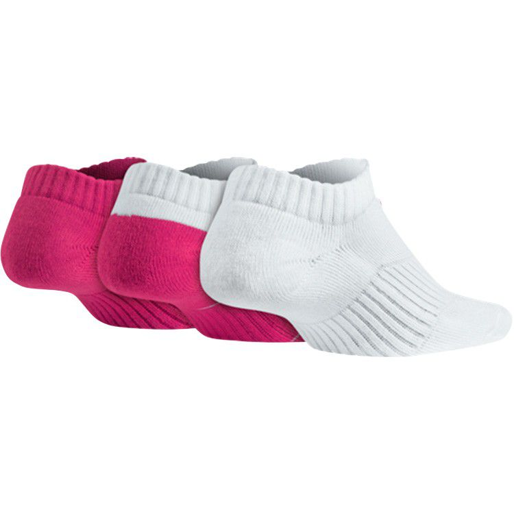 Kit Meia Nike Cotton Cushion No-Show Feminina