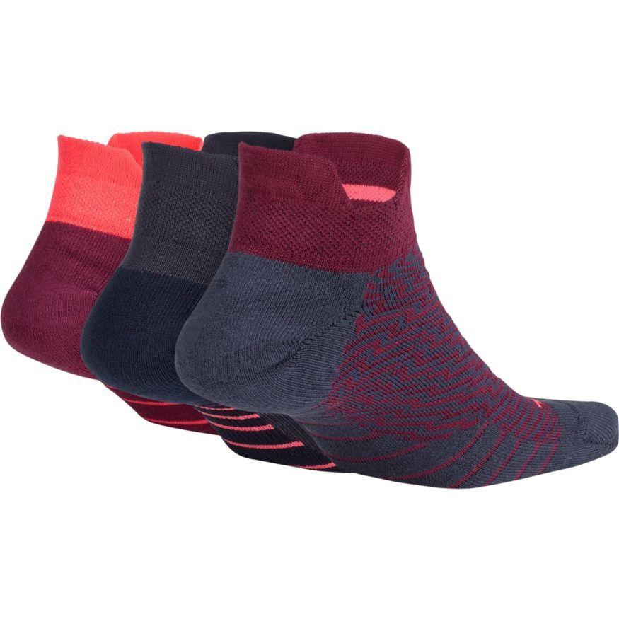 Meia Nike Dry Cushion Low Training Feminina (3 Pares)