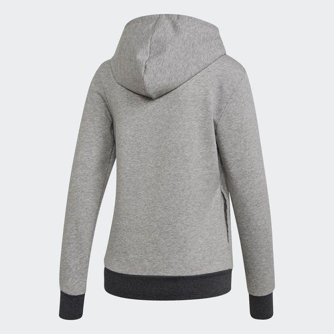 Moletinho Adidas Essentials Linear C/ Capuz Feminino