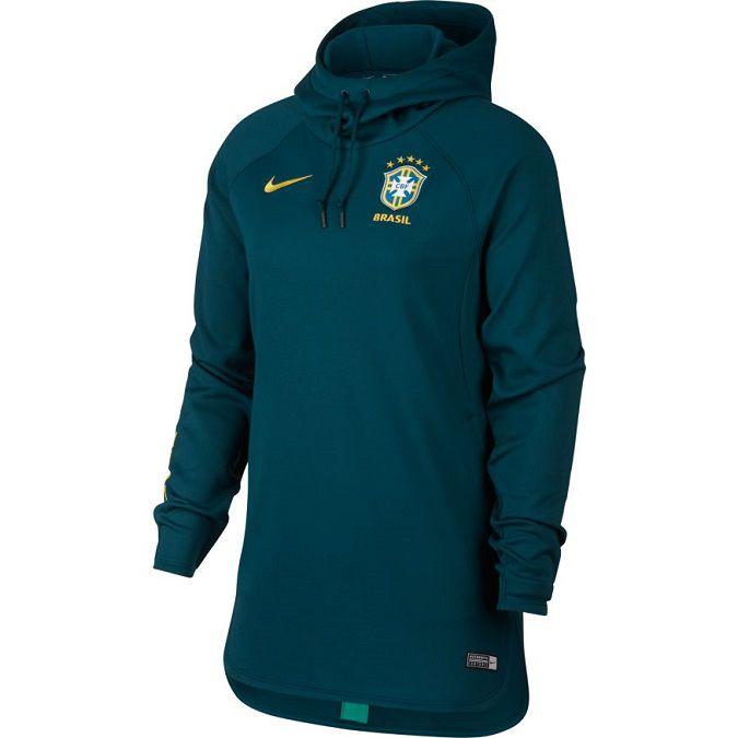 Moletom Nike Dri-FIT Brasil CBF Squad Feminino