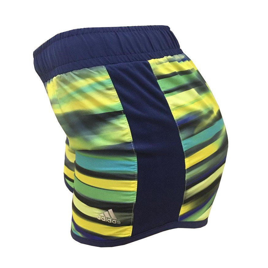Short Adidas Climalite Blue and Yellow Infantil