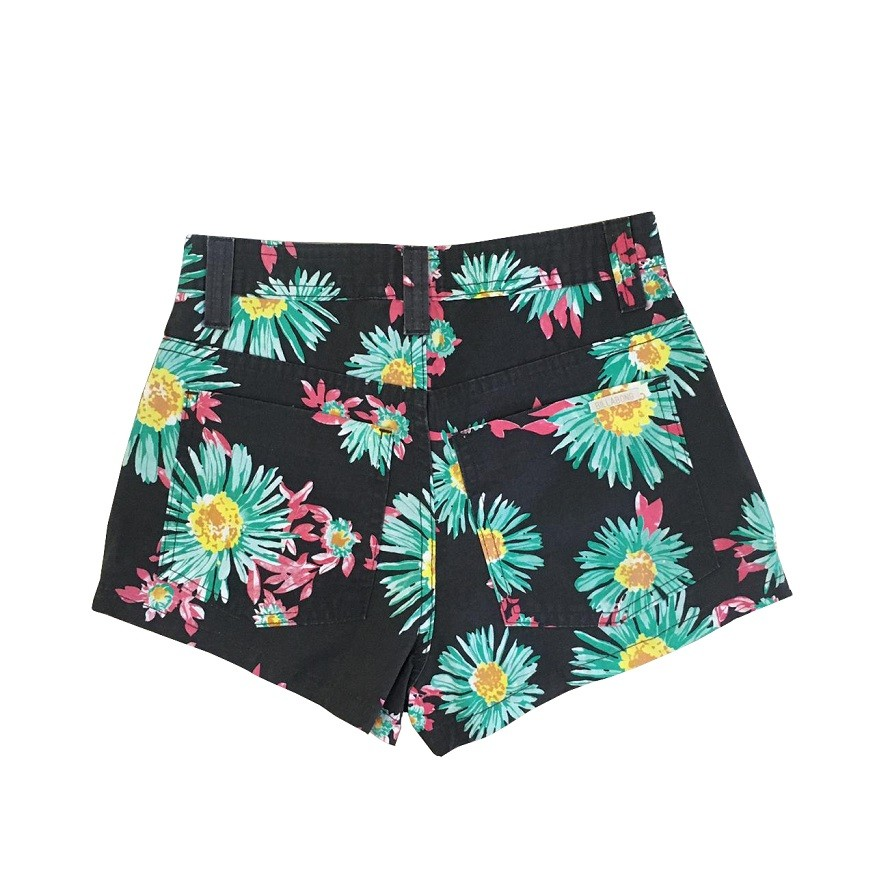 Short Billabong Flower Feminino
