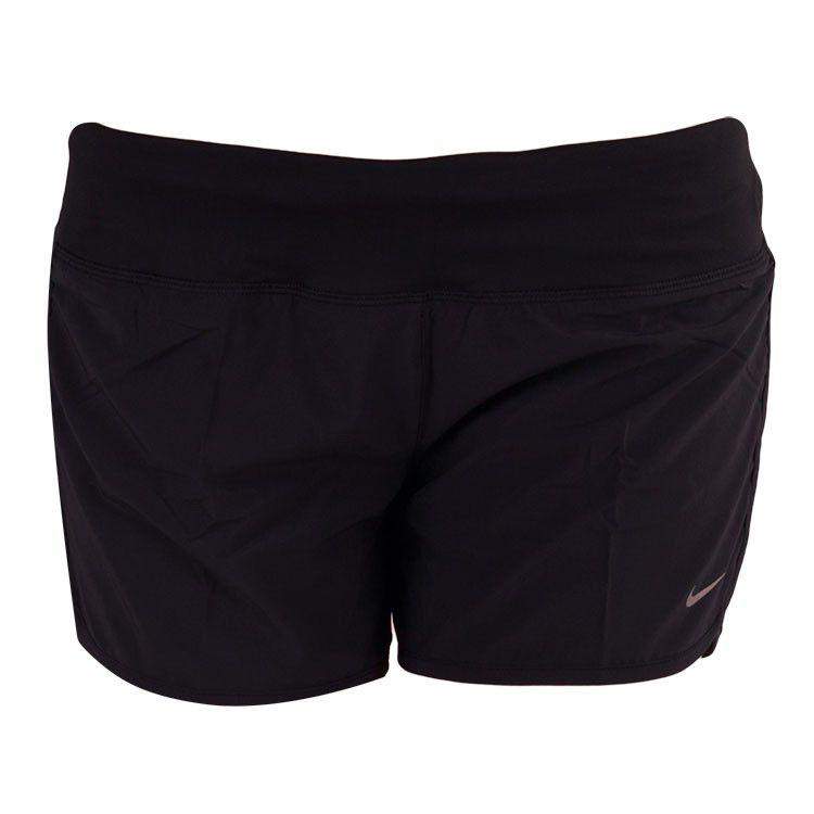 """Shorts Nike New 4"""" Rival Preto Feminino"""