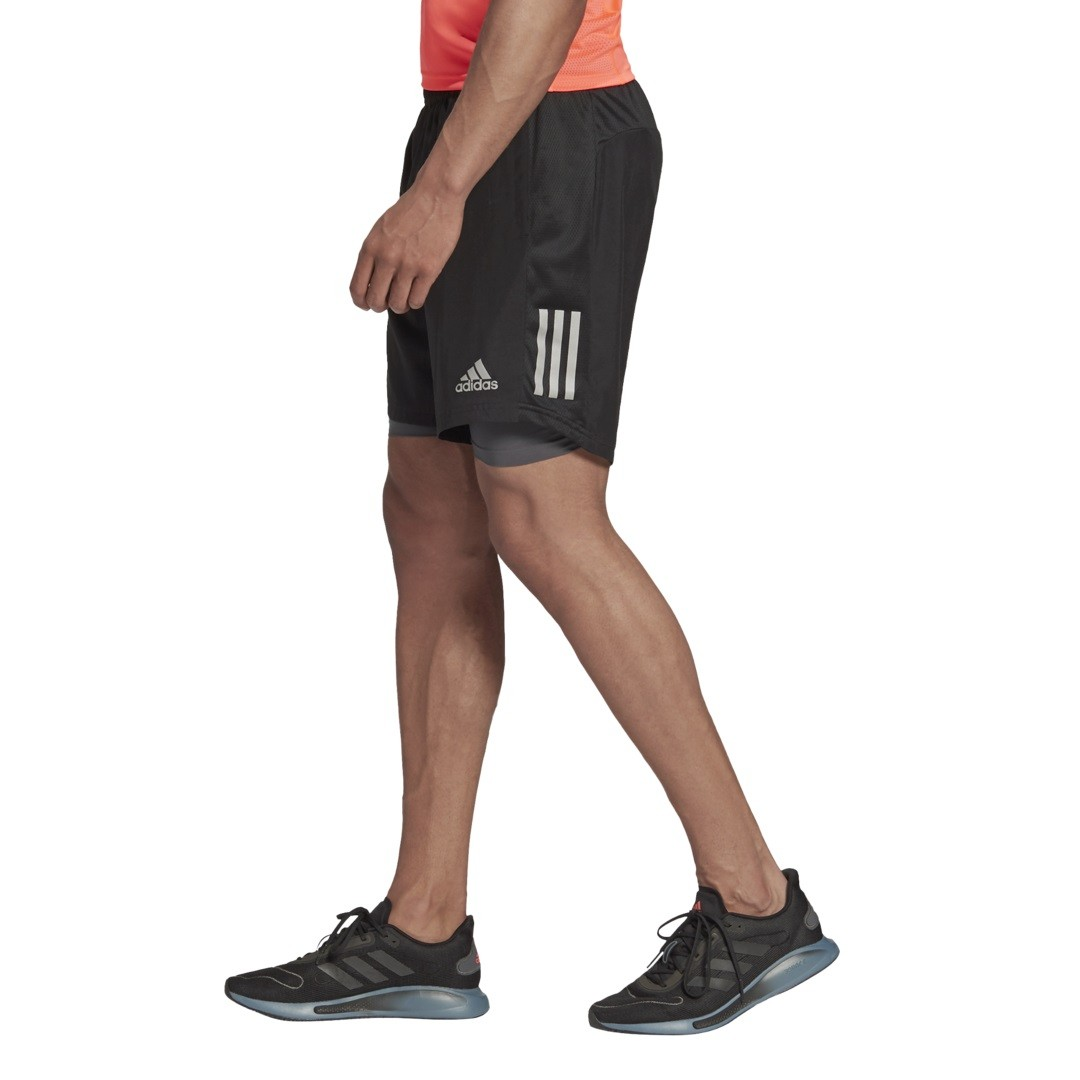 Shorts Adidas 2 em 1 Own The Run