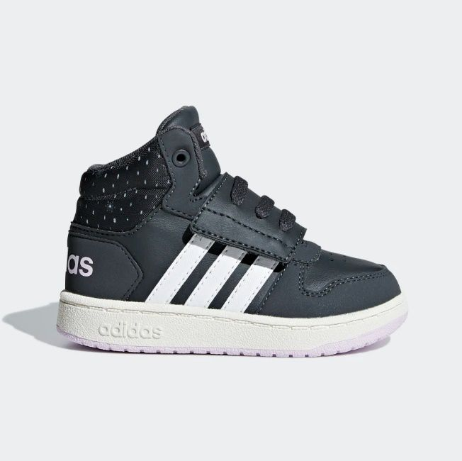 Tênis Adidas Hoops Mid 2.0 Infantil Feminino