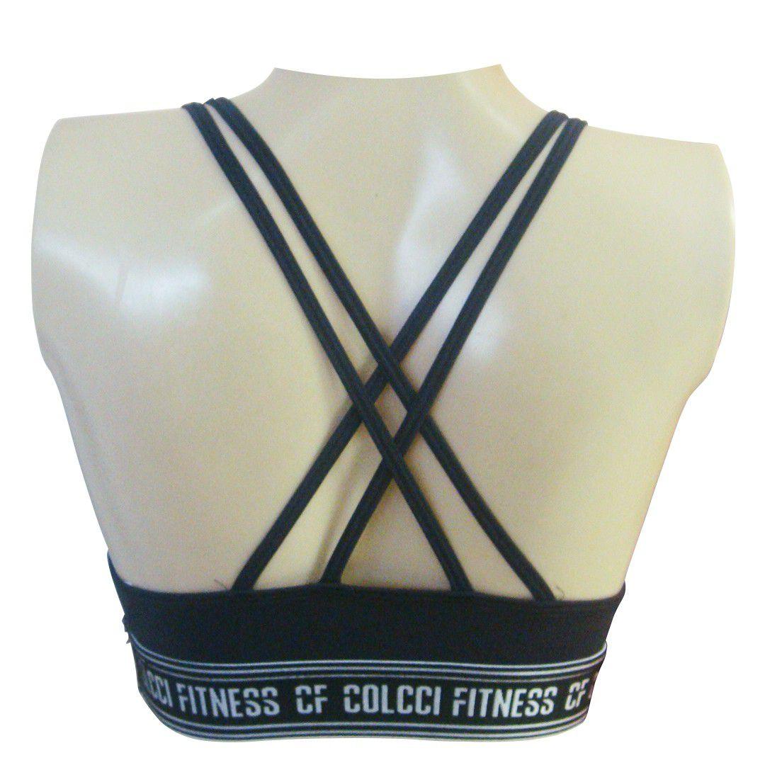 Top Colcci Fitness Alça Feminino