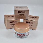 Gel para construção de unhas em gel, Acrygel e Fibra Honey Girl Fiber 3