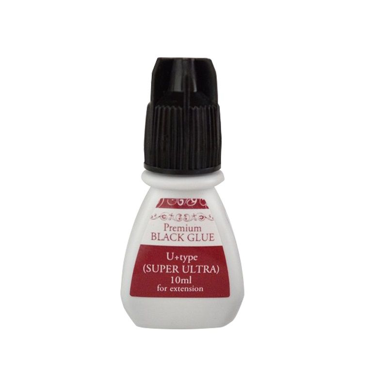 Cola para Alongamento de Cílios Premium Black Glue U  TYPE (Super Ultra) 10ml
