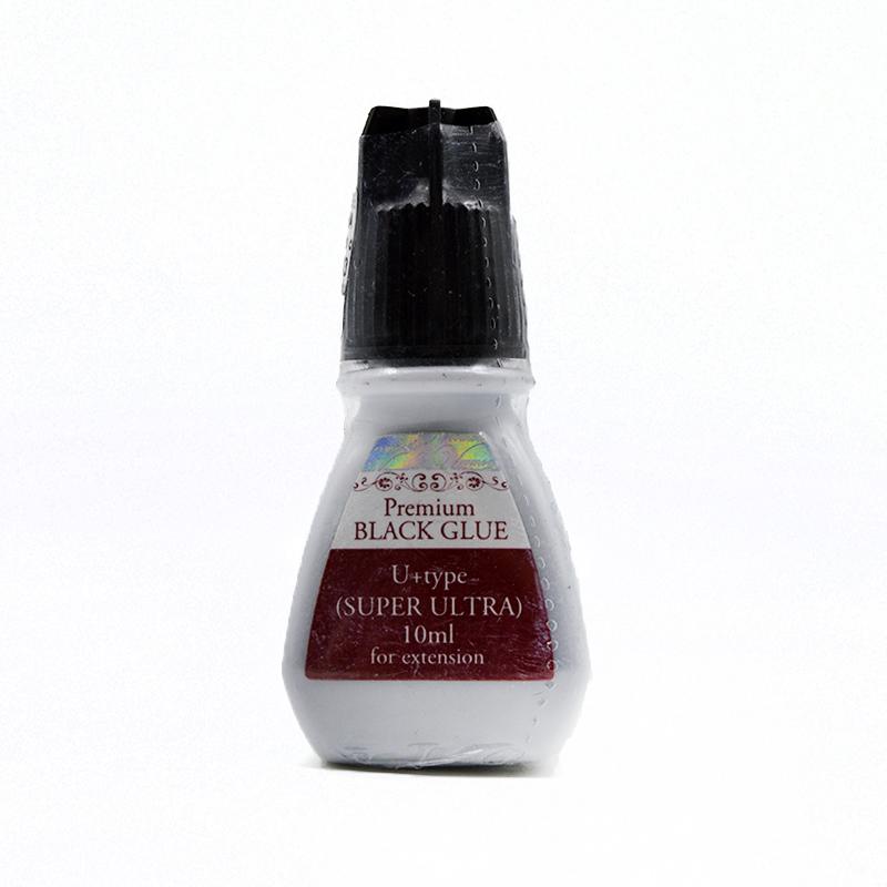 Cola para Alongamento de Cílios Premium Black Glue U  TYPE (Super Ultra) 10ml
