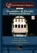 Elementos de Direito Processual Penal  - Vol  I <b>Autor: José Frederico Marques - Atualizadores: Eduardo Reale Ferrari - Guilherme Madeira Dezem</b>