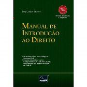 Manual de Introdução ao Direito 7ª Edição <b>Autor: Luiz Carlos Branco</b>
