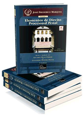 Coleção Elementos de Direito Processual Penal 4 Vol  - Millennium Editora - Livros de Perícia