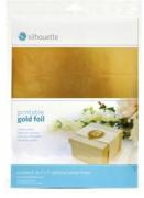 Adesivo Imprimível Silhouette - Dourado - 8 unidades