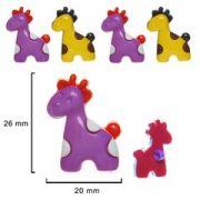 Botão girafa 25UN