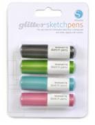 Canetas Silhouette Glitter - 04 unidades