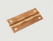 Dobradiça 25 x 11 mm com pregos c/ 10 unidades