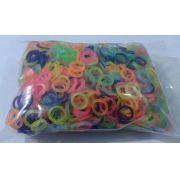 Elástico Colorido para Laço Pet - 5/16 - 100 unidades