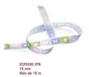 Fita Estampada Progresso Cetim 15mm - ECF003D 079 10mts