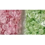 Mini Flor de tecido 100 unid