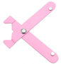 Alicate para Fuxico - Rosa - Lanmax
