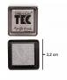 Almofada para carimbo - 2,5x2,5cm - Acid Free - Toke e Crie