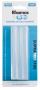 Refil de cola quente grossa 70g hot melt transparente Rhamos e Brito Blister com 6 unidades