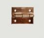 Dobradiça 15 x 11 mm com pregos c/ 10 unidades