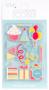 Kit de Ilustrações Celebration para Letterboard DCWV - 15 unidades