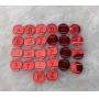 Passante para Elástico Redondo - 1,5cm - Alfabeto (26 unidades)