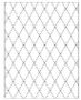 Placa para Relevo 2D Elegance - 107x139mm - Losango - Toke e Crie