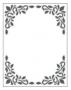 Placa para Relevo 2D Elegance - 107x139mm - Quadro Decorativo - Toke e Crie