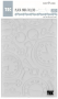 Placa para Relevo 2D Elegance - 127x177mm - Relógio Vintage II - Toke e Crie