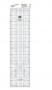Régua Para Patchwork - 15x 60 - Toke e Crie