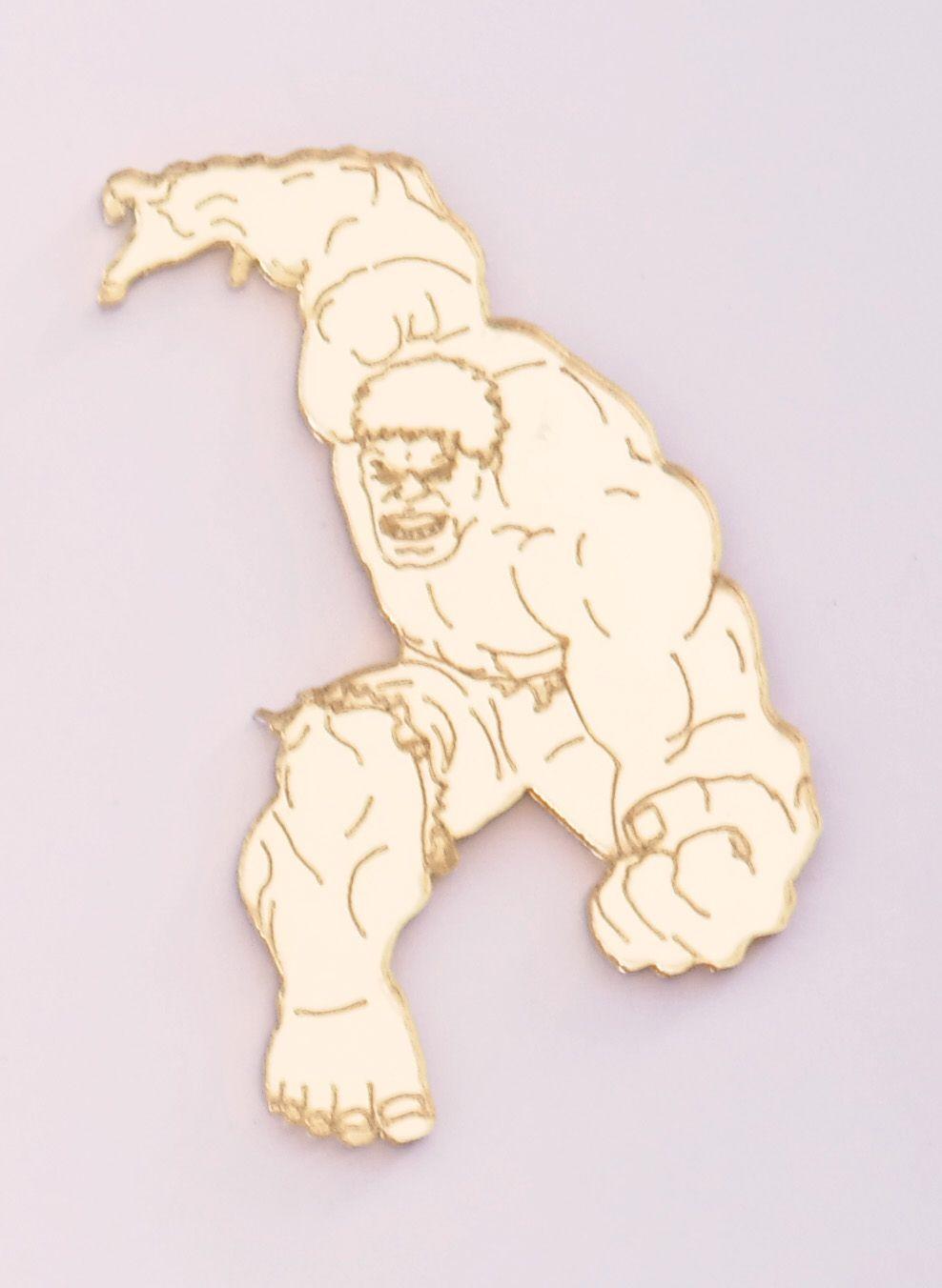 Aplique em acrílico espelhado - Hulk - 5cm - 10 peças