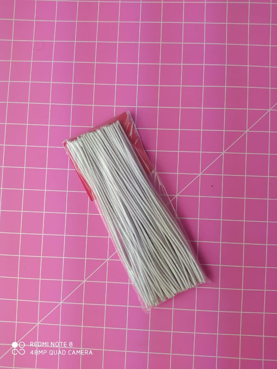 Arame encapado espessura nº 23 - 10cm c/100 unidades