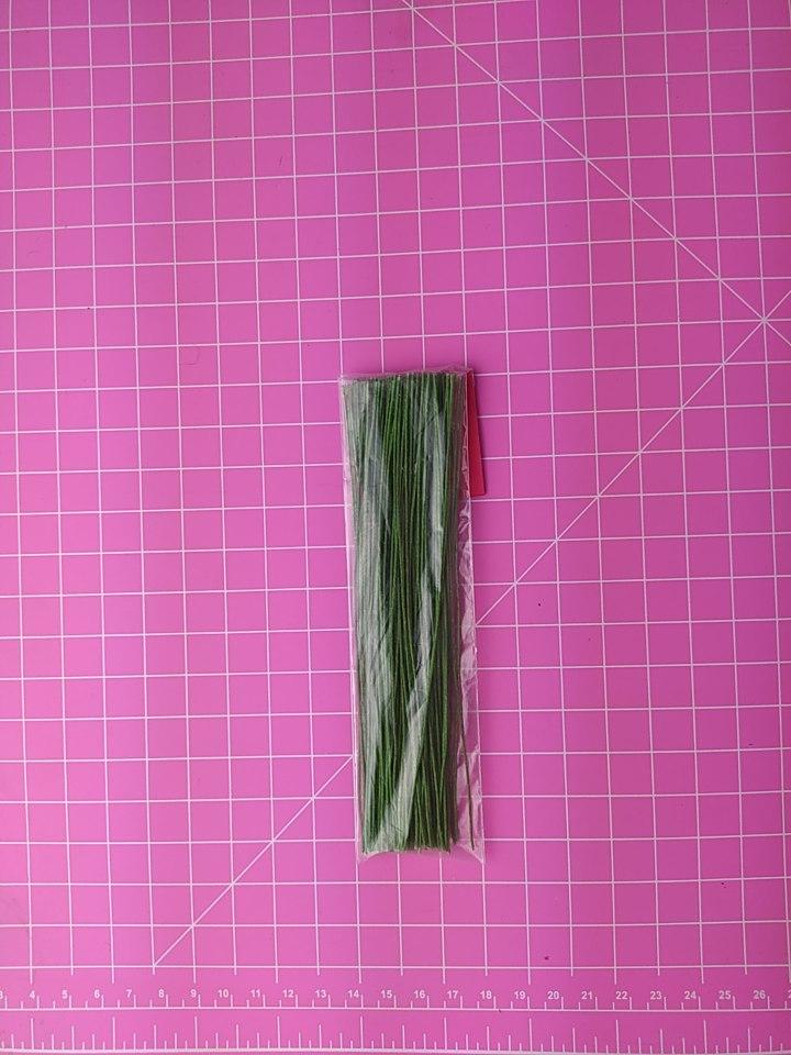 Arame encapado espessura nº 26 - 14cm c/100 unidades