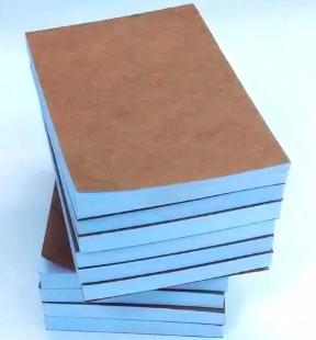 Bloco 100 Folhas 7x10 Rascunho Sulfite - 5 unidades