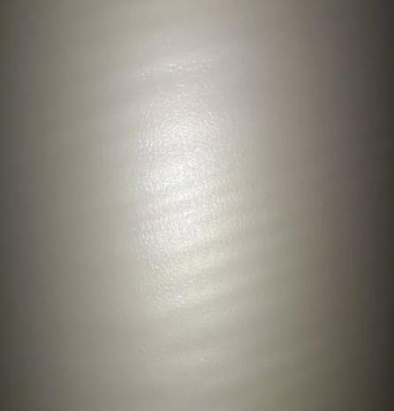 Bopp - Fosco - Casca de Ovo - Laminação a Quente - 21,6cm - Rolo 50 metros