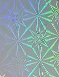 Bopp 3d Holográfico - Snowflake - Laminação a Quente - 33cm - 10 metros