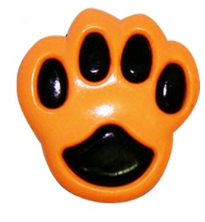 Botão Pata de cachorro KR 6041 25UN