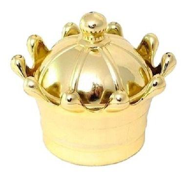 Caixinha Coroa Dourada Lembrancinha Realeza - 10 unidades