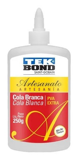 Cola para Artesanato Branca PVA Extra 250g - Tekbond