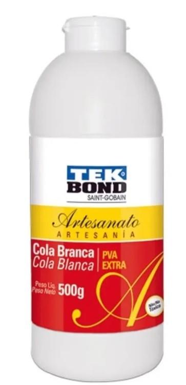 Cola para Artesanato Branca PVA Extra 500g - Tekbond