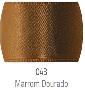043 - marrom dourado