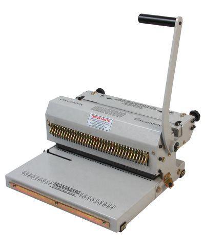 Encadernadora Perfuradora e Fechadora Wire-o Passo 3x1
