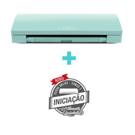 Equipamento para Recorte de Papéis Silhouette Cameo 3 - Cor Mint Green