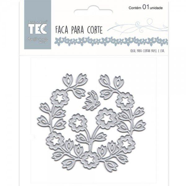 Faca Para Corte Elegance - Média - Bouquet - Toke e Crie