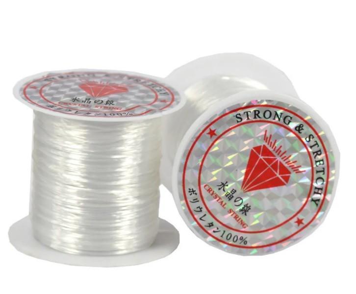 Fio de silicone - seda elástica c/ 10 metros